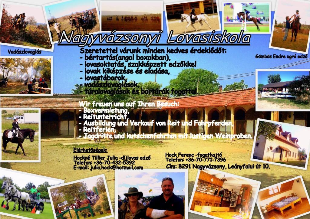 Lovasiskola, Nagyvázsony
