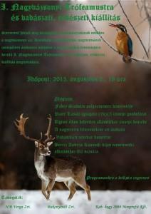 I. Trófeamustra (vadászati, erdészeti kiállítás) szeptember közepéig látogatható a Kisiskola megújult nagytermében