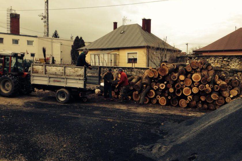 Megkezdődöttaszociális tűzifa kiszállítása