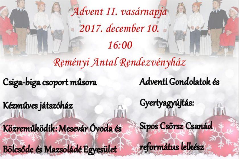 Advent II. vasárnapja