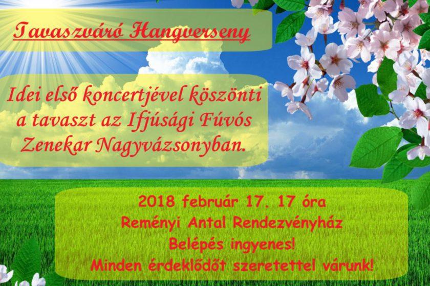 Tavaszváró hangverseny