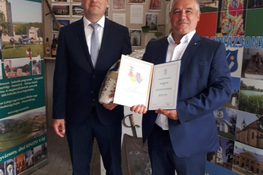 Építész-különdíjat és Kiváló kategóriát kapott településünk a Magyarországi Falumegújítási Díjátadón