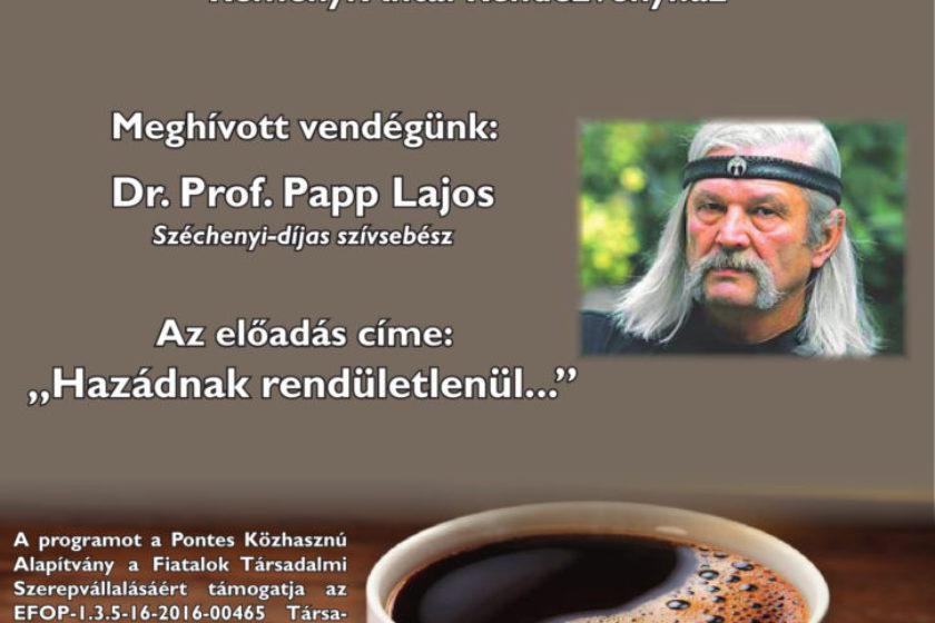 Közéleti Kávéház Sorozat – Papp Lajos